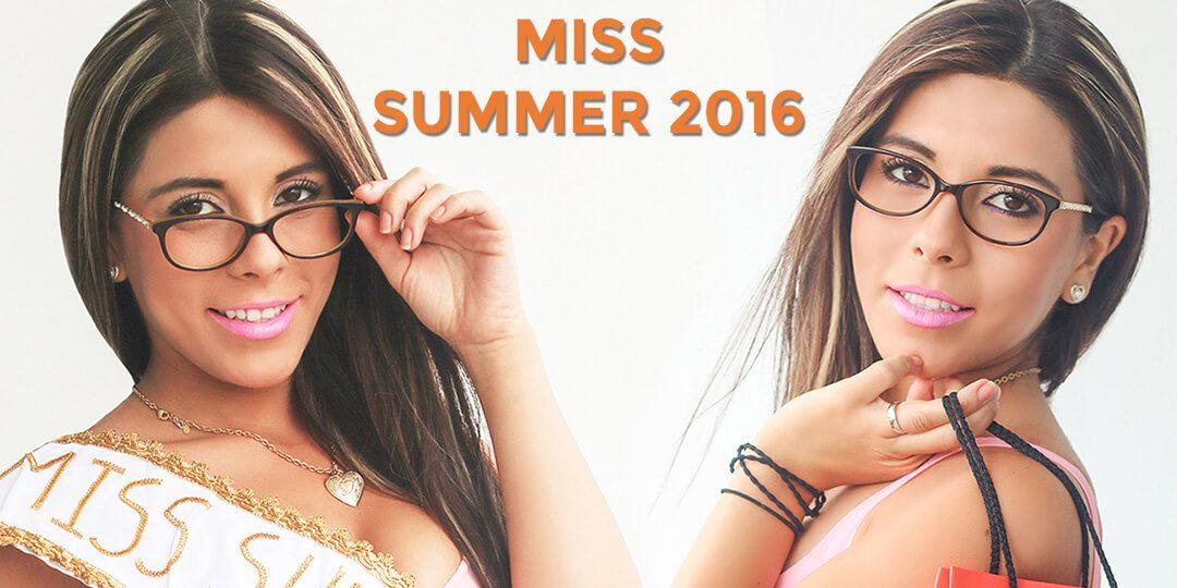 Miss Summer Perú 2016