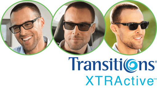 Lentes Transitions XTRAactive